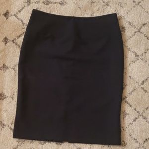 Women's Navy Pencil Skirt